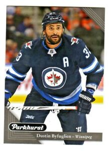 2017-18-Upper-Deck-PARKHURST-BLACK-PARALLEL-247-DUSTIN-BYFUGLIEN-Jets-RETAIL