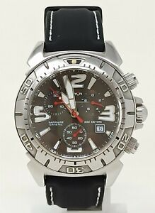 Orologio Sector swiss made diver watch chrono G10-200 clock diving sub montre