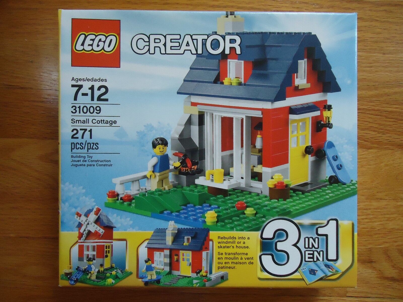31009 SMALL COTTAGE lego creator NEW sealed 3 in 1 legos set city house windmill
