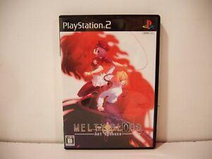 Melty Blood Act Cadenza Sony Playstation 2 PS2 Jap NTSC