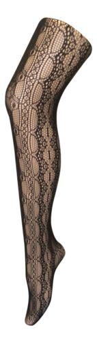 Women/'s Thin Fancy Patterned Semi Opaque Designer Tights 8-14 UK