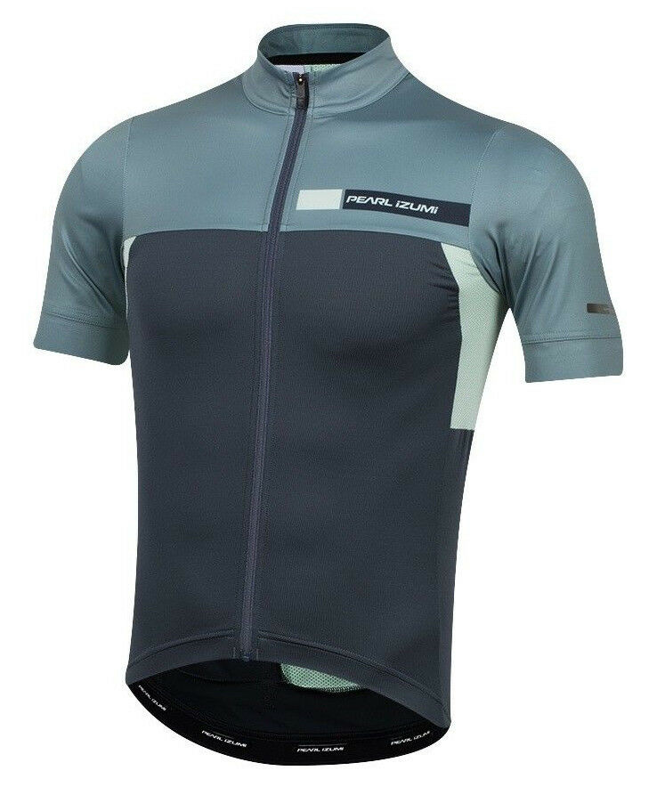 Pearl Izumi 2018 P.R.O. PRO Escape Bike Jersey Midnight Navy/Arctic Coast - XL