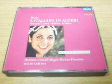 ROSSINI l'italiana in algeri BERGANZA*VARVISO 1989 DECCA GERMAN 2-CD + BOOKLET