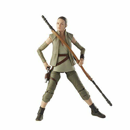 Env 15 Cm Grande Figurine Star Wars The Black Series Rey Island Journey