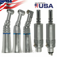 Nsk Style Dental Low Speed Handpiece Latchpush Contra Angle With Air Motor F