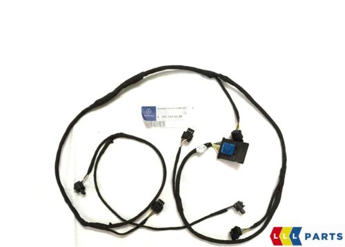 NEW GENUINE MERCEDES C CLASS W204 FRONT BUMPER PDC WIRING HARNESS