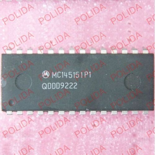 1PCS Parallel in Frequency Synthesizer IC MOTOROLA DIP-28 MC145151P1