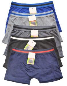 Boxershorts-Unterwaesche-5er-Spar-Pack-Jungen-Unterhose-Gr-86-152-Mehrfarbig-Neu