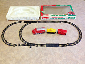 Vintage Buddy L Battery Powered Table Top Railroad Train