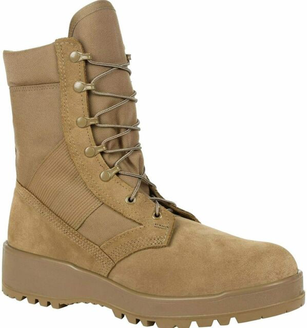 Rocky Army OCP Desert TAN Hot Weather Combat Boots Size 9N, New in Box!