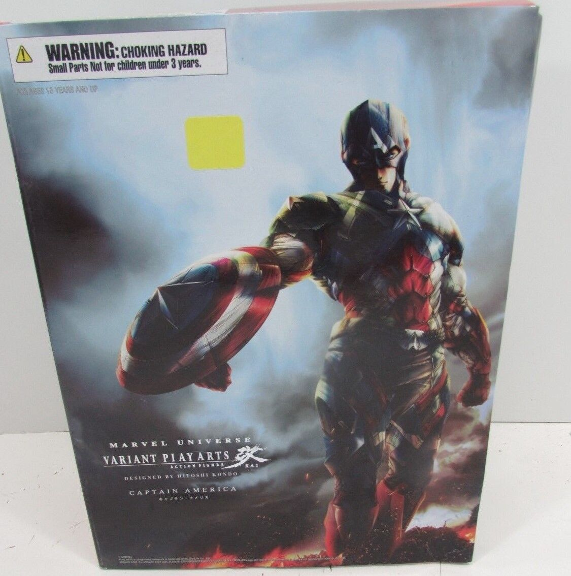 mejor reputación Jugar Arts Kai MARVEL Universo variante Capitán América SQUARE SQUARE SQUARE ENIX F S Japón Nuevo  barato en línea