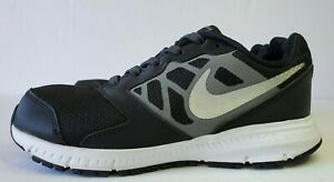 Nike-Downshifter-6-Kids-684979-003-Sz-3Y-Black-Silver-Gray-Youth-Athletic-Shoes