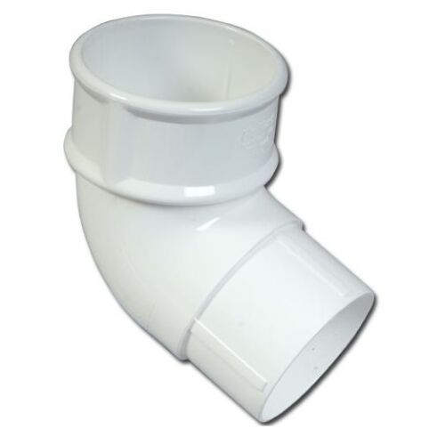 White Downpipe Parts White Round Pipe Rainwater Pipe Accessories