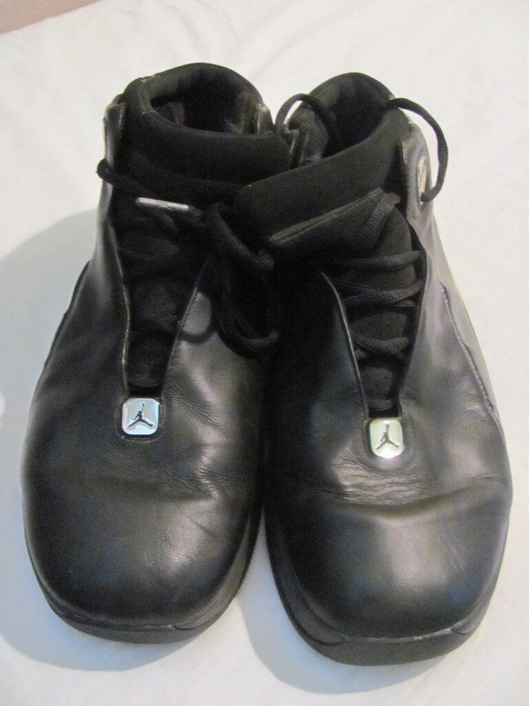Homme Air Jordan JumpFemme Équipe Flow Chaussures Chaussures Chaussures de Basketball Cuir Noir   Service Supremacy  a5c50f