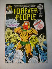 FOREVER PEOPLE #5 COVER ART, original approval cover proof 1970'S, KIRBY