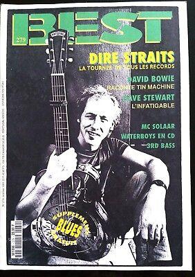 Best N°279 Du 10/19791; Dire Straits/ David Bowie/ Dave Stewart/ Mc Solaar
