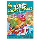 School Zone Publishing SZP06329 Big Hidden Pictures & More Workbook
