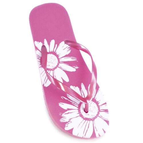 Femme Femmes Summer Métallique Tongs En option Sac de plage//Mat Taille 3 4 5 6 7 8
