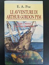 LIBRO EDGAR ALLAN POE - LE AVVENTURE DI ARTHUR GORDON PYM - ACQUARELLI 1995