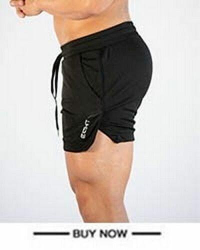 Men Sport Shorts Run Jogging Bodybuilding Training Fitness Gym Soccer