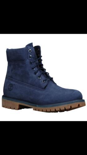Leather véritable Genuine 5 14 taille 6 Premium po imperméable pour homme 5 Botte cuir 14 Timberland Navy Size OFqF8