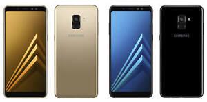"""Samsung Galaxy A8 (2018) A530 Dual Sim LTE 32GB 5.6"""" 16MP Android Phone By FedEx"""
