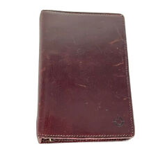 Franklin Covey Vintage Leather Binder Planner Day Timer Small Size