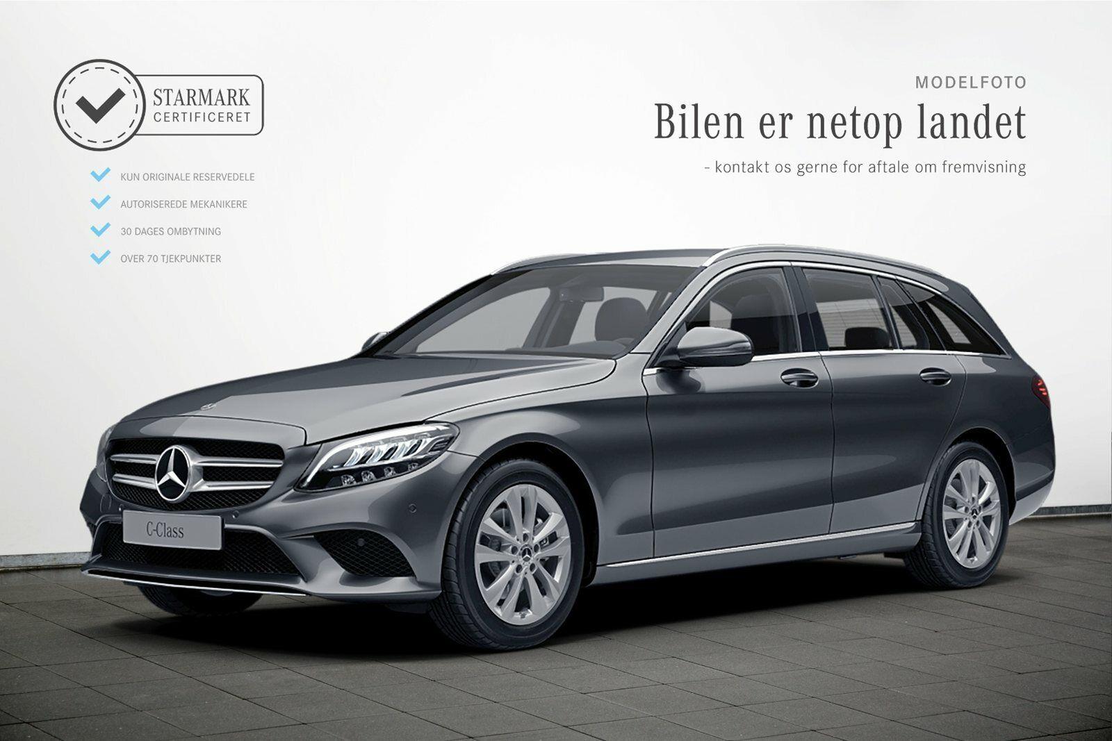 Mercedes C200 1,5 Avantgarde stc. aut. 5d - 469.900 kr.