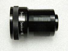 Super Sankor - 16  F 1.5 38 mm Projection lens.