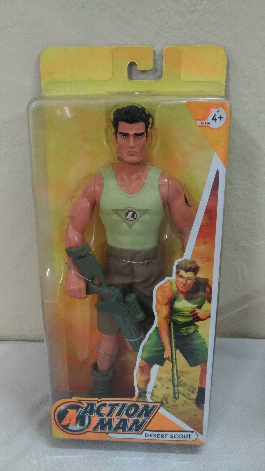 Action Man Desert Scout, Nuovo