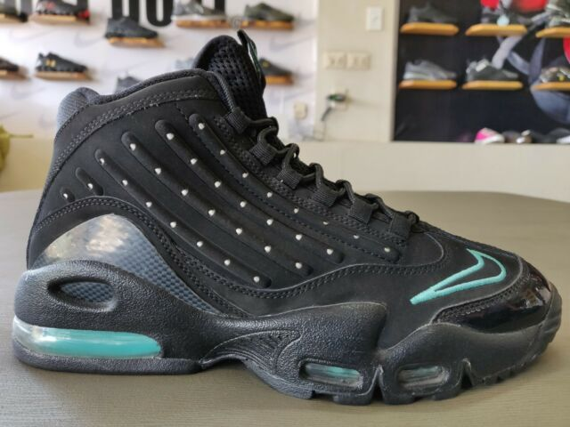c0d4feceb6 Nike Air Max Ken Griffey Jr 2 II Black HYPER Jade 442171-002 Men's ...