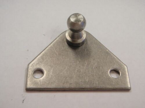 GAS SPRING MOUNTING BRACKET SL40 SL40SSP37 FLAT STAINLESS ATTWOOD 10MM BALL