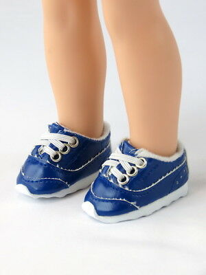 "Doll Clothes 14.5/""  Sneakers Shoes Blue White Fit 14.5/"" AG WELLIE WISHER DOLLS"