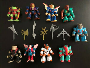 Vintage-Battle-Beasts-1980s-Action-Figure-amp-Weapons-lot-TAKARA-Hasbro