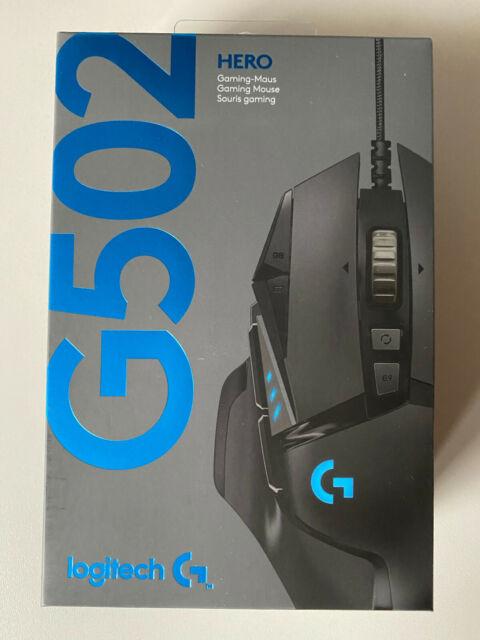 Logitech G502 HERO Gaming Maus Mouse