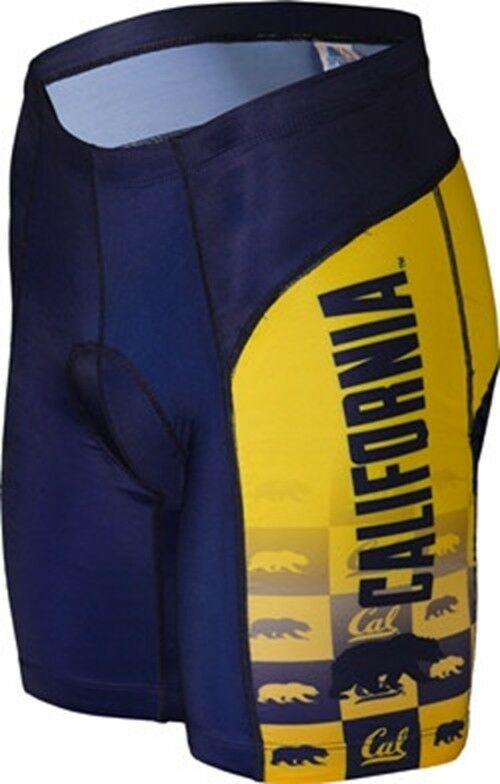 NCAA Men's Adrenaline Promotions California Berkeley golden Bears Cycling Shorts
