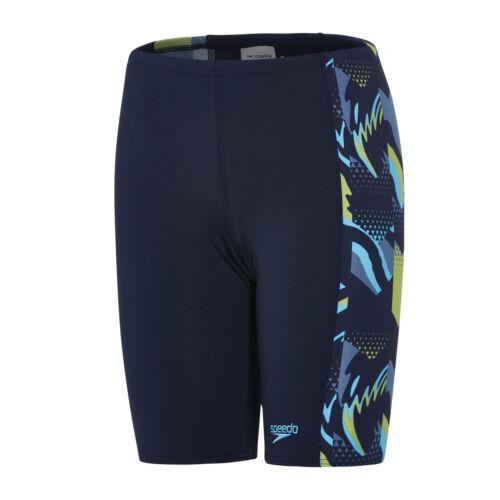 Speedo Alphablast Allover Panel Jammer Boys  Swim Shorts
