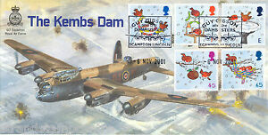 2001 Xmas - Cambridge Stamp Centre 617 Dambusters Kembs Dam Off - Only 40 Done !