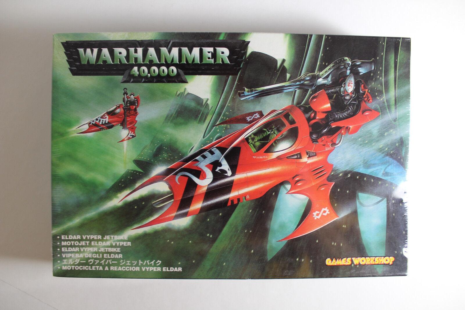 Warhammer 40k - eldar  vyper jetbike - neue - in versiegelten kiste - selten - made in uk