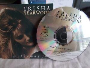 TRISHA-YEARWOOD-WALKAWAY-JOE-EU-3-TRK-CD-SINGLE-COUNTRY-UNPLAYED