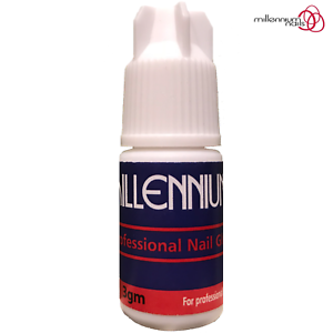 Millennium-Nails-Adhesive-Glue-3g-Super-Strong-For-False-Nail-Tips-amp-Extensions