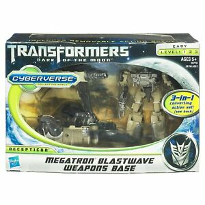NEW-TRANSFORMERS-DARK-OF-THE-MOON-CYBERVERSE-MEGATRON-WITH-BLASTWAVE-BASE