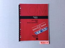 John Deere 1207 Mower Conditioner Operators Manual Ome61321