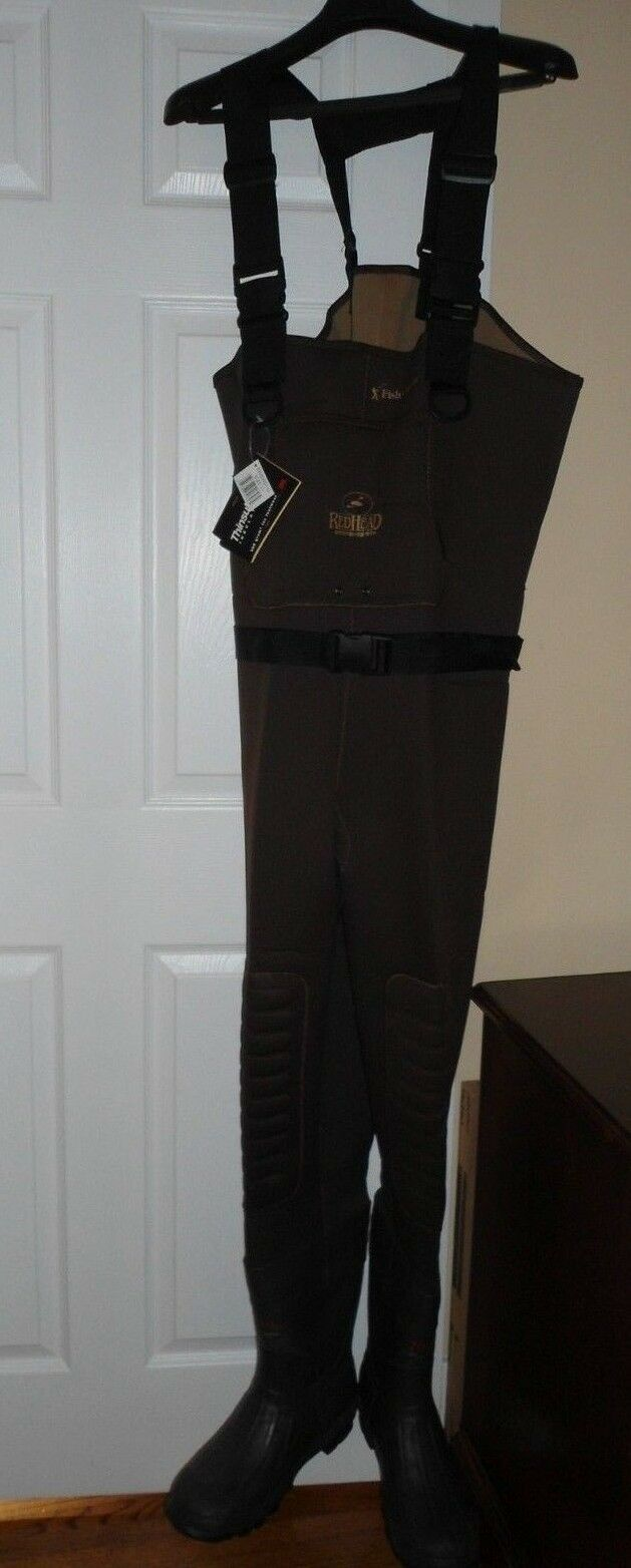 RedHead Classic Series II Neoprene Bootfoot Hunting Waders for Men size 11 brown
