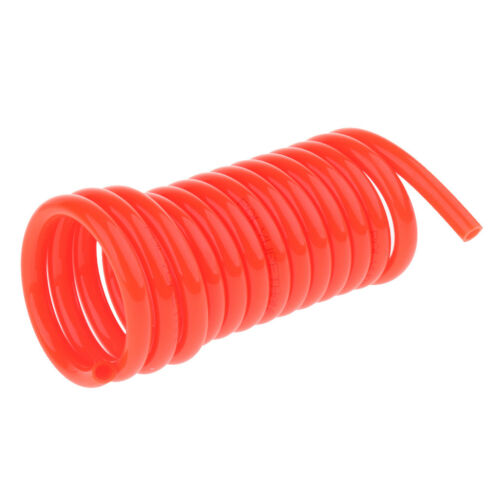 9.8ft POLYURETHANE RE COIL AIR HOSE Fittings Recoil
