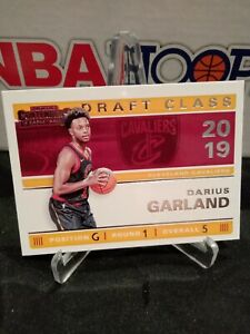 2019-20-Darius-Garland-Panini-Contenders-ROOKIE-Draft-class-Base-MINT