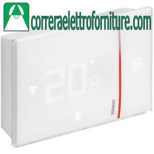 Details About Bticino X8000w Termostato Wi Fi Da Parete Smarther