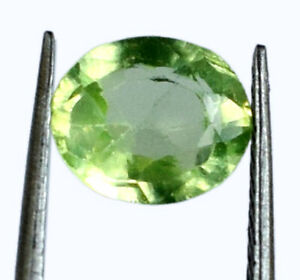 Pakistan Olive Green Peridot Oval Gemstone 2.40 Ct 100% Natural Certified G1692