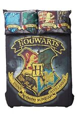 Harry Potter Hogwarts Houses Crest Full/Queen Comforter Gift New In Package!
