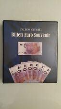 ALBUM pour BILLETS 0 EURO SOUVENIR 2016, Français et étrangers